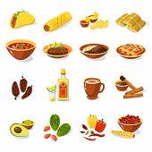 Mexican Food Set