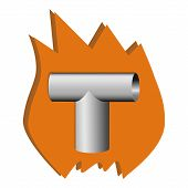 Logo With Heating Element