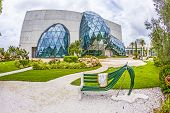 Exterior Of Salvador Dali Museum In St. Petersburg