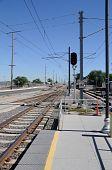 Light Commuter Rail Platform