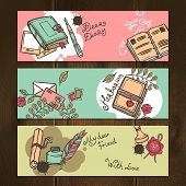 Diary Vintage Banners