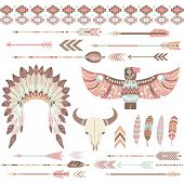 Tribal /Indian Clip Art Collections