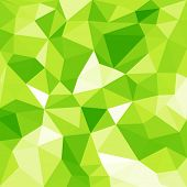 green low-poly background