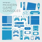 Moderngameconsoles_set.eps