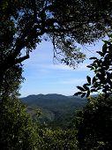 Stunning hill/mountain view.
