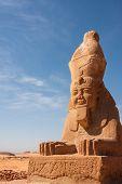 Wadi El Seboua Sphinx