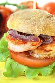 Delicious Prawn Burger
