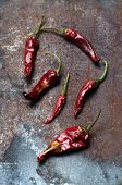 Dried Chili Peppers