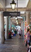 LONDON, UK - 22 JULY, 2014: Covent Garden market, one of the main tourist attractions in London, kno