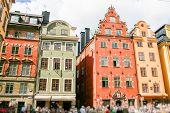 Colored Swedish Homes