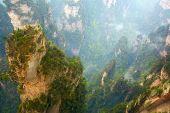 Zhangjiajie National Park, China. Avatar mountains