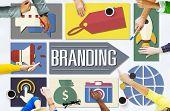 Branding Advertising Business Global Marketing Concept