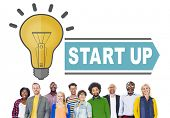 Start Up Success Growth Launch Strategy Inspiration Concept