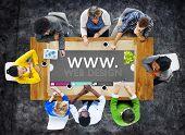 WWW Website Internet Online Webpage Social Concept