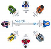 Search Searching Browsing Internet Online Information Concept