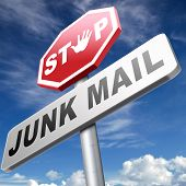 stop junk mail and spam