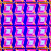 stock photo of psychedelic  - 60S Psychedelic modern blur and transparent patterns background - JPG