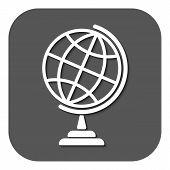 stock photo of globe  - The globe icon - JPG