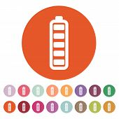image of accumulative  - The battery icon - JPG