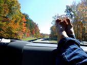 Road Trip In Autumn