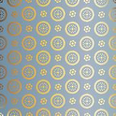 foto of gold  - Blue and gold  pattern - JPG
