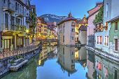 stock photo of annecy  - Quai de l - JPG