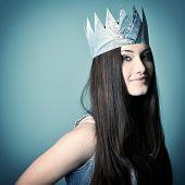 picture of princess crown  - Pretty jeans princess - JPG