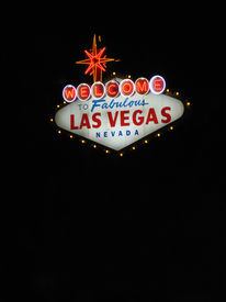 pic of las vegas casino  - a vertical view of the welcome to fabulous las vegas sign in las vegas nevada - JPG