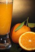 Orange Juice Close-up