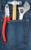 Toolkit In Jeans Pocket