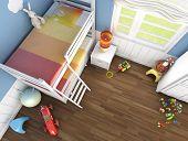 Children's Room Top View