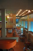 The Interior Of Restaurant