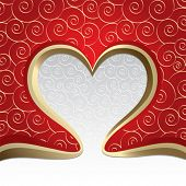 image of valentines day card  - The Valentine - JPG