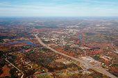 Aerial View Of Nova Scotia
