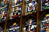 stained glass windows abstract