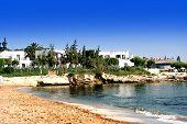 Beautiful Mediterranean Beach In High Summer. poster