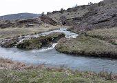 kochendes River, montana