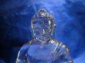 Crystal Bust Of Buddha