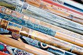 Didgeridoo'S On Display