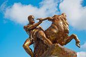 Statue In Schwerin