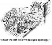 """This is the last time we post job openings."""