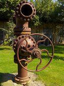 Steel cast valve