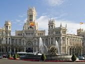 Cibeles Fountain Madrid Spain