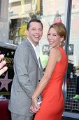 LOS ANGELES - SEP 19:  Lisa Joyner Cryer, Jon Cryer at the Jon Cryer Hollywood Walk of Fame Star Cer