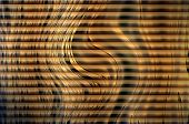 Golden colored blinds background