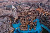 Bird's-eye Dubai View