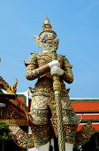 stock photo of monk fruit  - Demon Guarding The Temple at Grand Palce thailand - JPG
