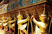 stock photo of monk fruit  - The Golden Monkeys Grand Palace thailand Afternoon - JPG