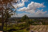 Santa Clara, Cuba: The View From The Hill Of The City Santa Clara. poster