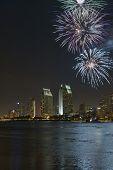 San Diego Bay Fireworks
